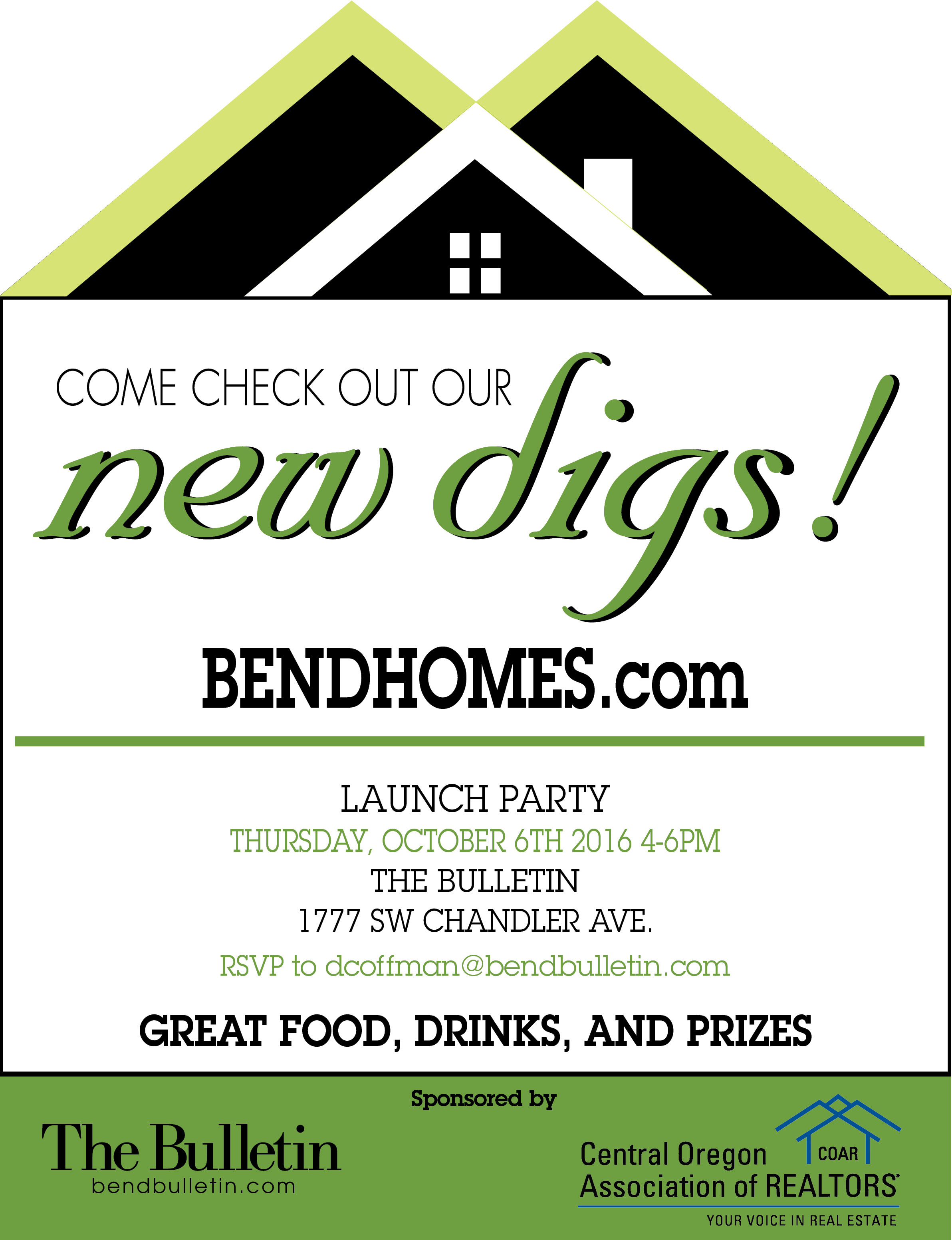 bendhomes Launch Party Invite 1